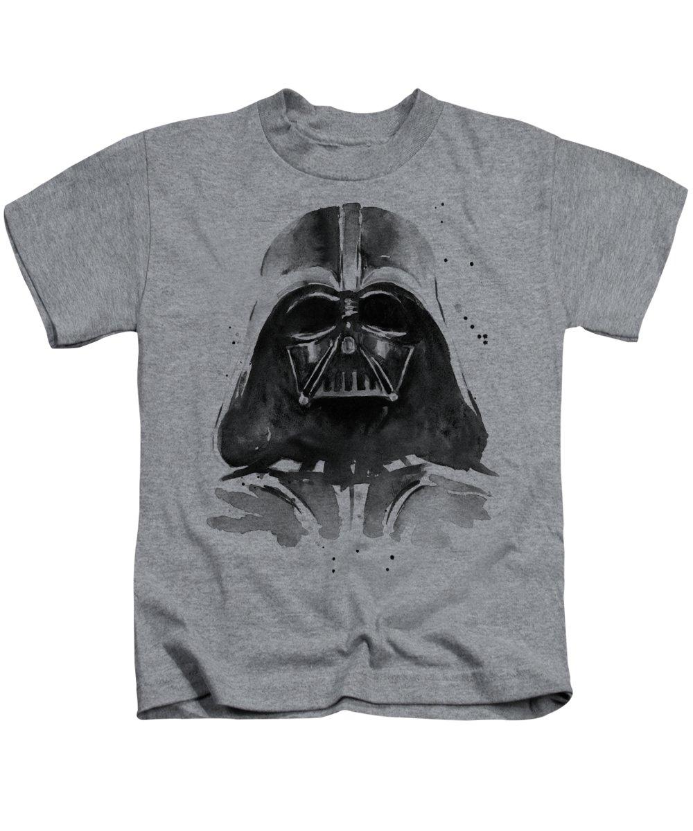 Black And White Art Kids T-Shirts