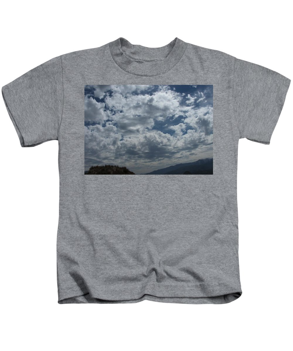Clouds Kids T-Shirt featuring the photograph Daydreaming by Shari Chavira