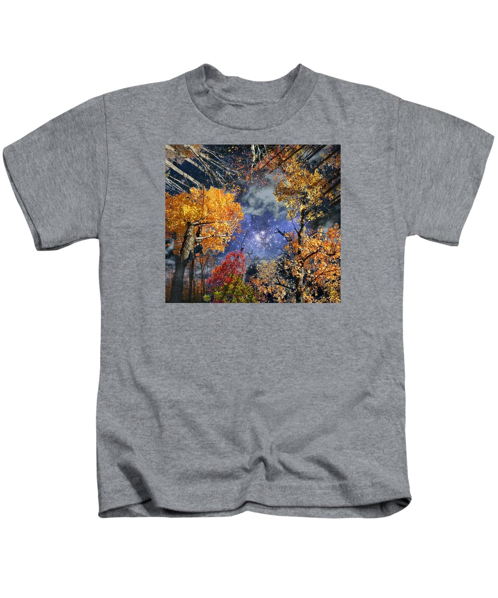 Deep Space Kids T-Shirt featuring the photograph Deep Canopy by Dave Martsolf