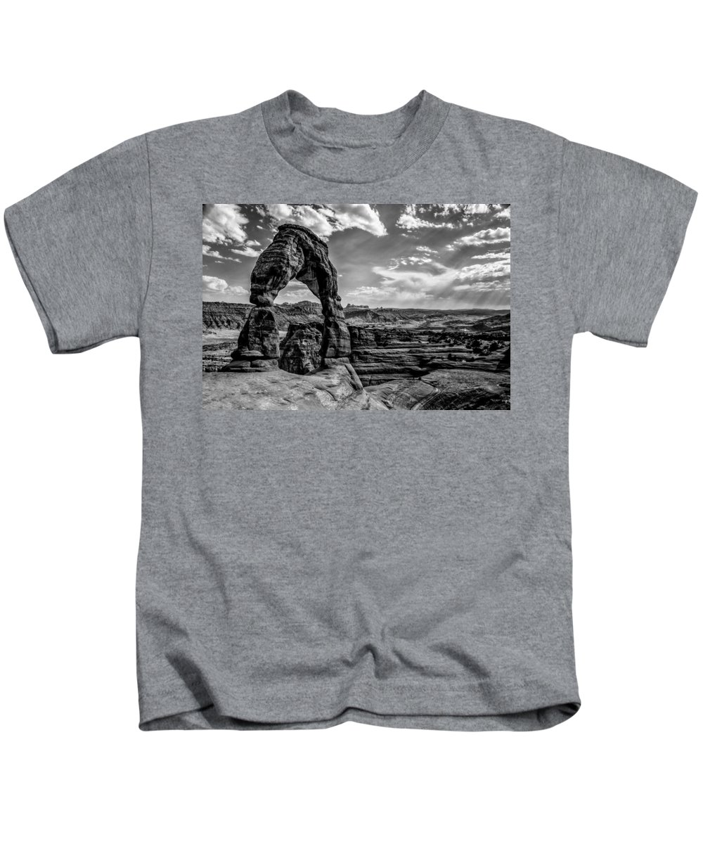 Utah Kids T-Shirt featuring the photograph Time Stands Still by Brian Menasco