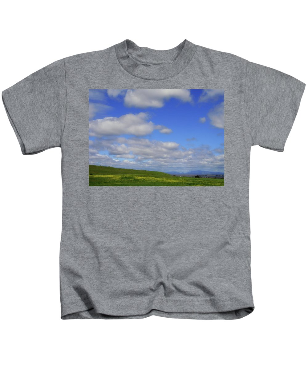California Kids T-Shirt featuring the photograph Delta Spring by Donna Blackhall