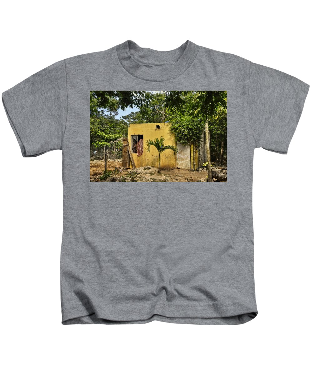 Mexico Kids T-Shirt featuring the photograph Deluxe Accommodations by Jim Bembinster