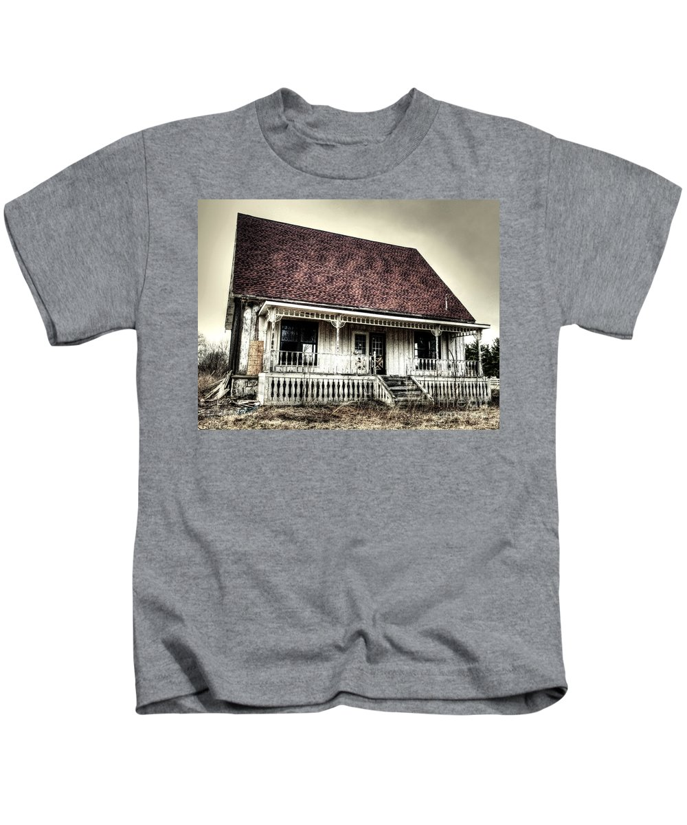 Diamond In The Rough Kids T-Shirt featuring the photograph Diamond In The Rough by September Stone