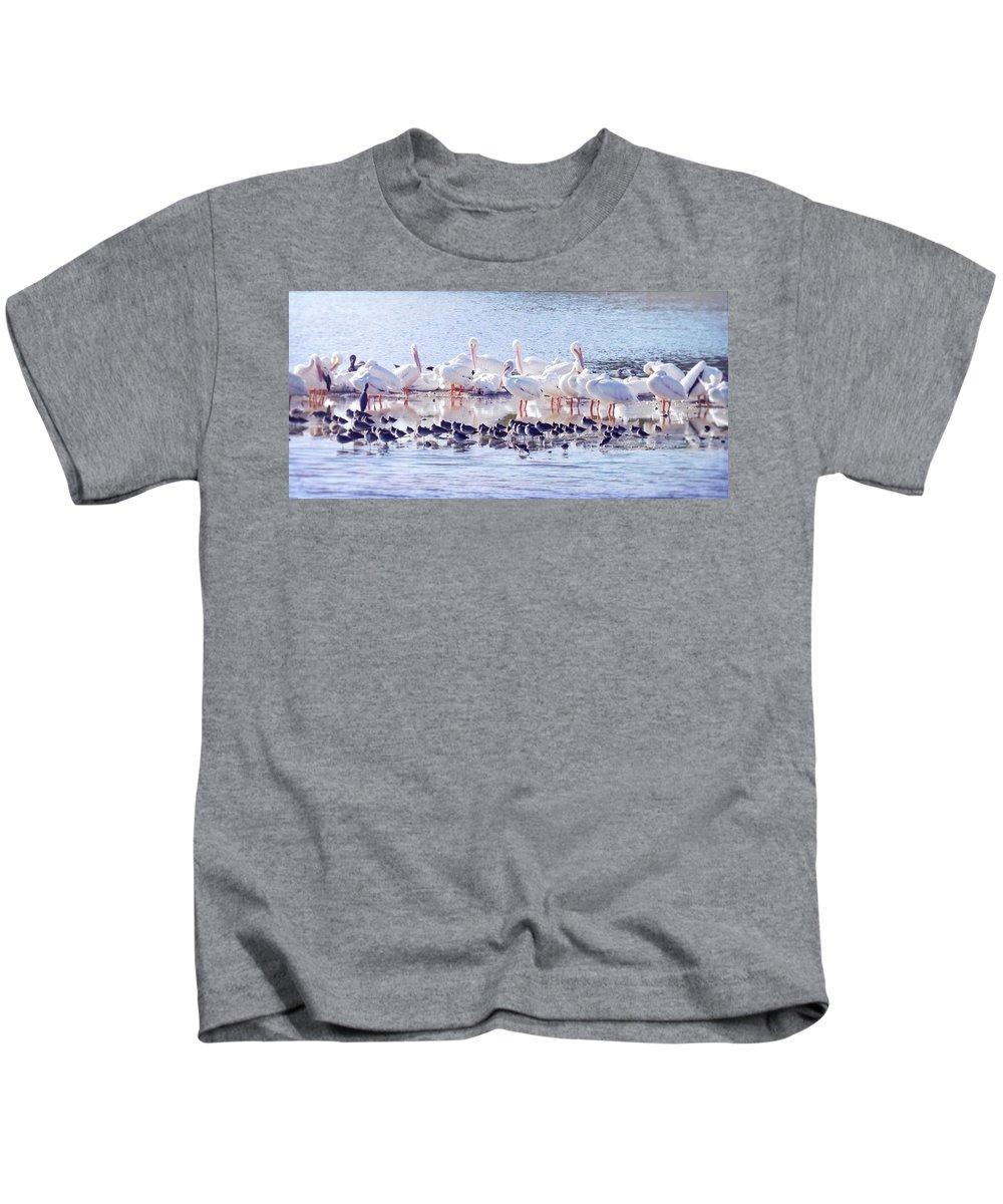 Sanibel Kids T-Shirt featuring the photograph Ding Darling Wildlife Refuge V by Tina Baxter