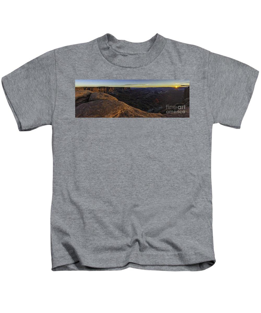 Dissolving Light Kids T-Shirt featuring the photograph Dissolving Light by Bitter Buffalo Photography