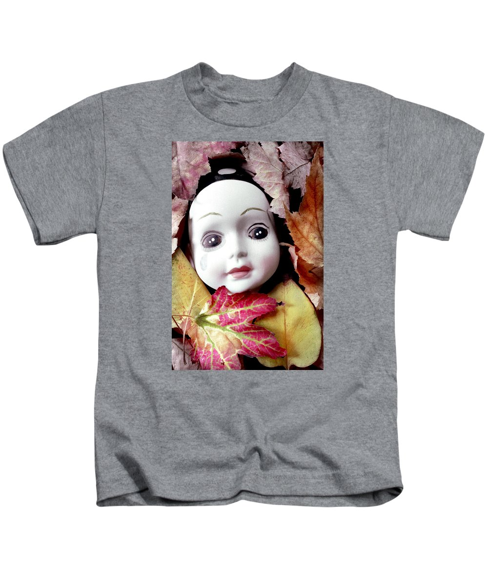 Doll Kids T-Shirt featuring the photograph Doll by Andre Giovina