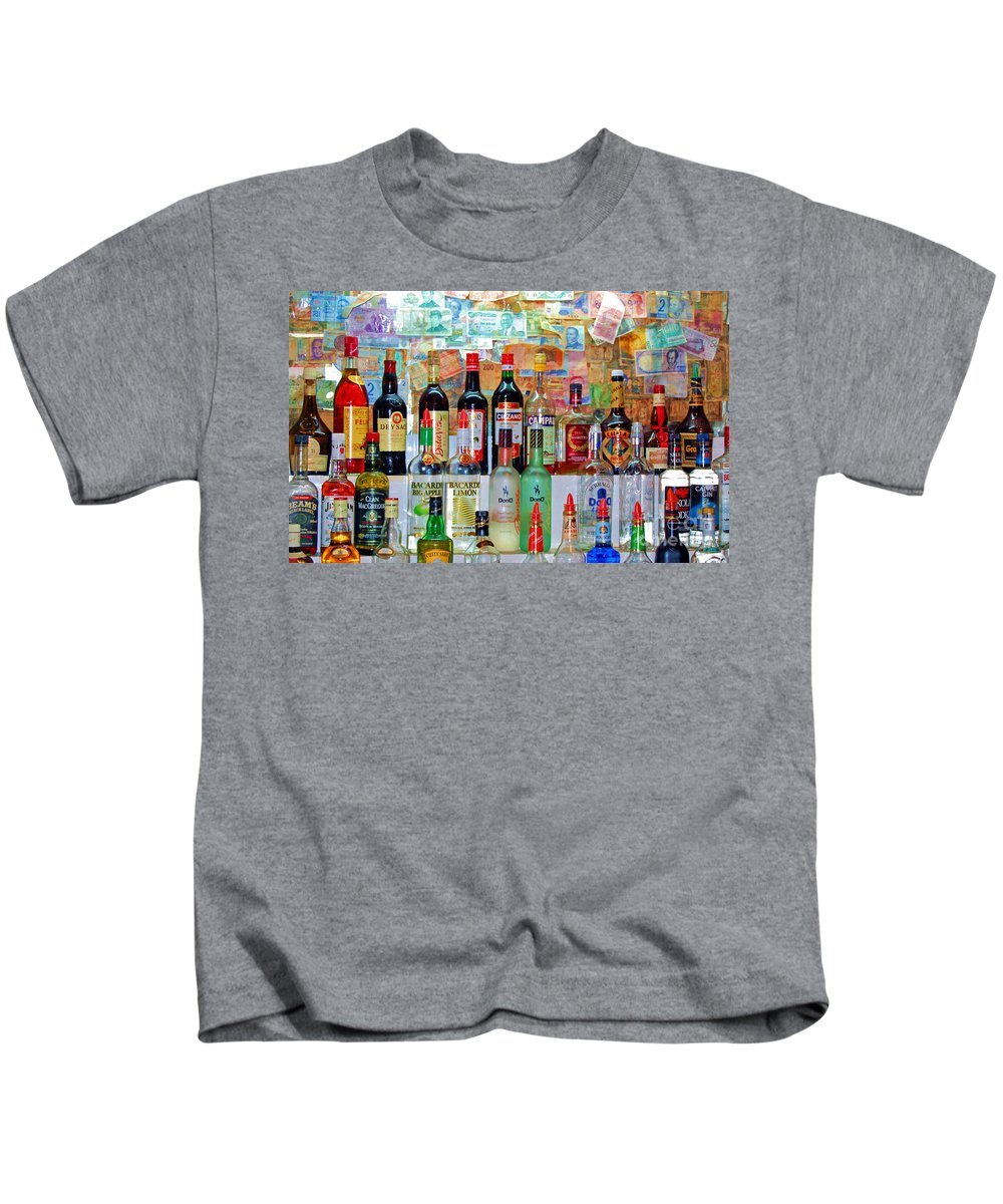 Liquor Kids T-Shirt featuring the photograph Don Q by Debbi Granruth