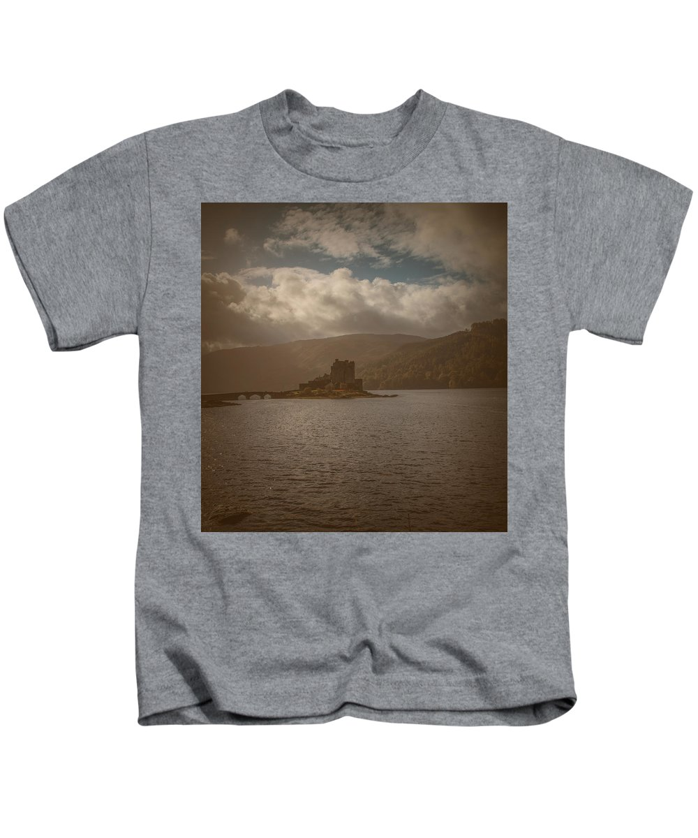 Castle Kids T-Shirt featuring the photograph Dreamy Castle #g8 by Leif Sohlman
