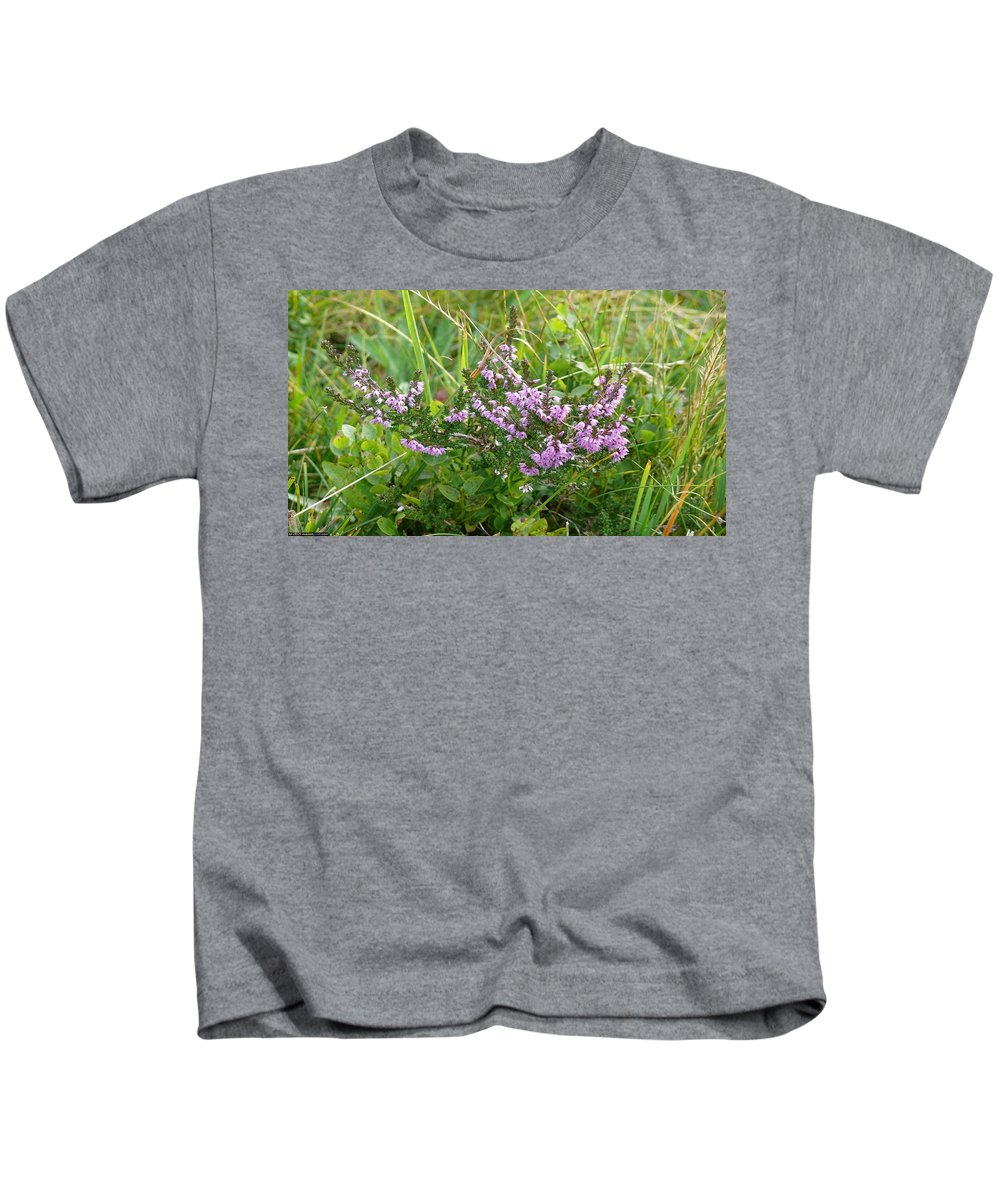 Earth Kids T-Shirt featuring the digital art Earth by Dorothy Binder