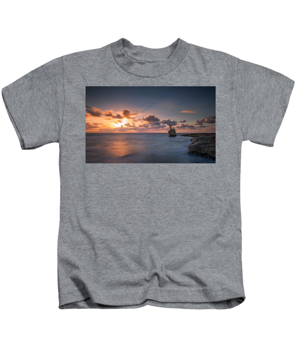 Landscape Kids T-Shirt featuring the photograph Edro 3 by Charalambos Charalambous
