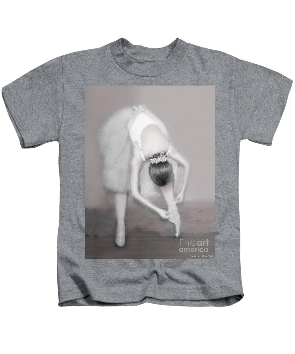 Ballet Kids T-Shirt featuring the photograph Ballerina by Constance Woods