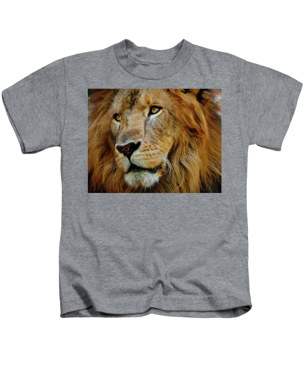 El Rey Kids T-Shirt featuring the photograph El Rey by Skip Hunt