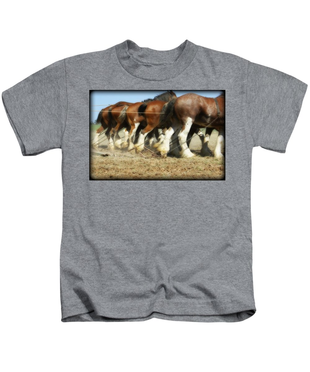 Kathryn Potempski Kids T-Shirt featuring the photograph End Of The Day by Kathryn Potempski