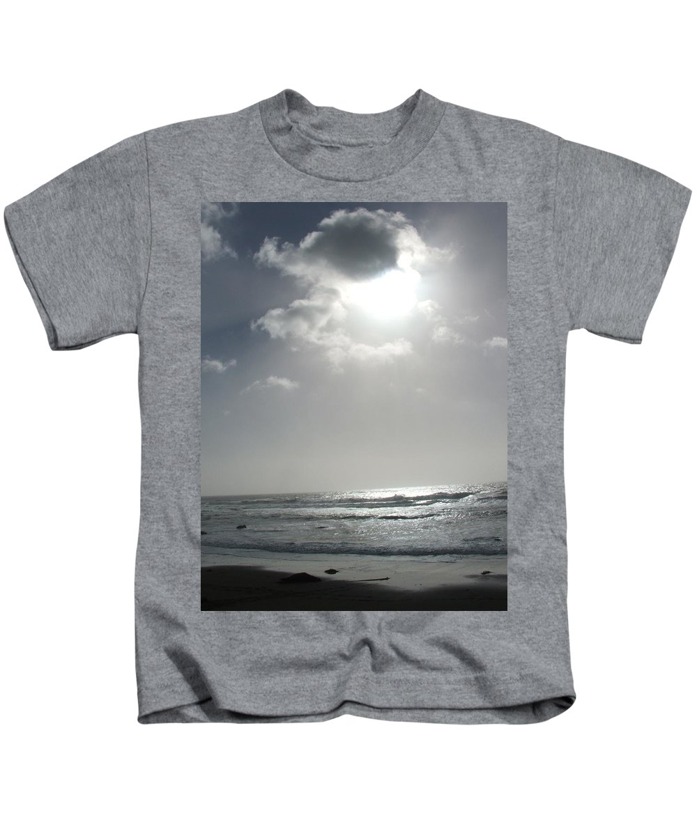 Black And White Kids T-Shirt featuring the photograph Enlightened by Shari Chavira