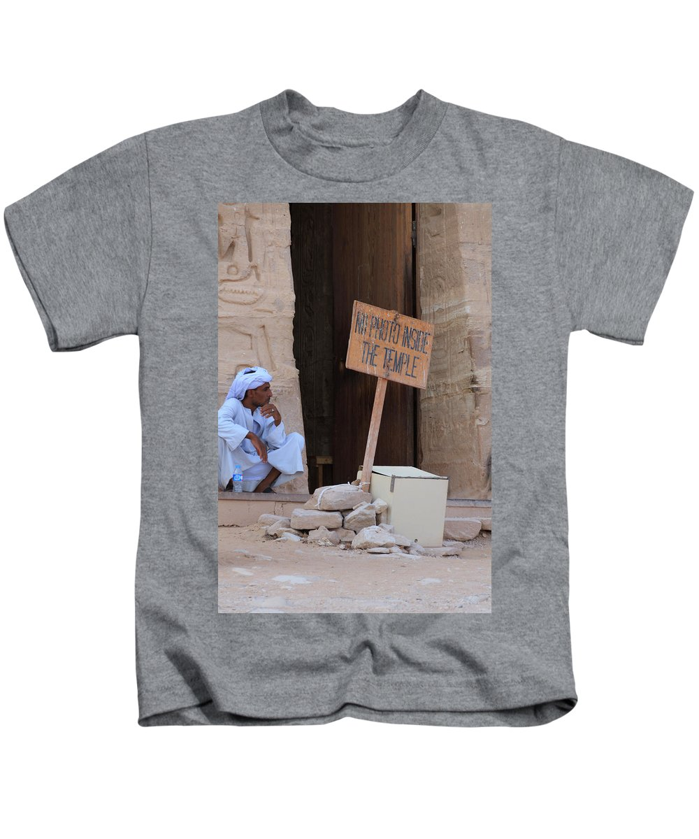 Entrance Kids T-Shirt featuring the photograph Entrance by Silvia Bruno