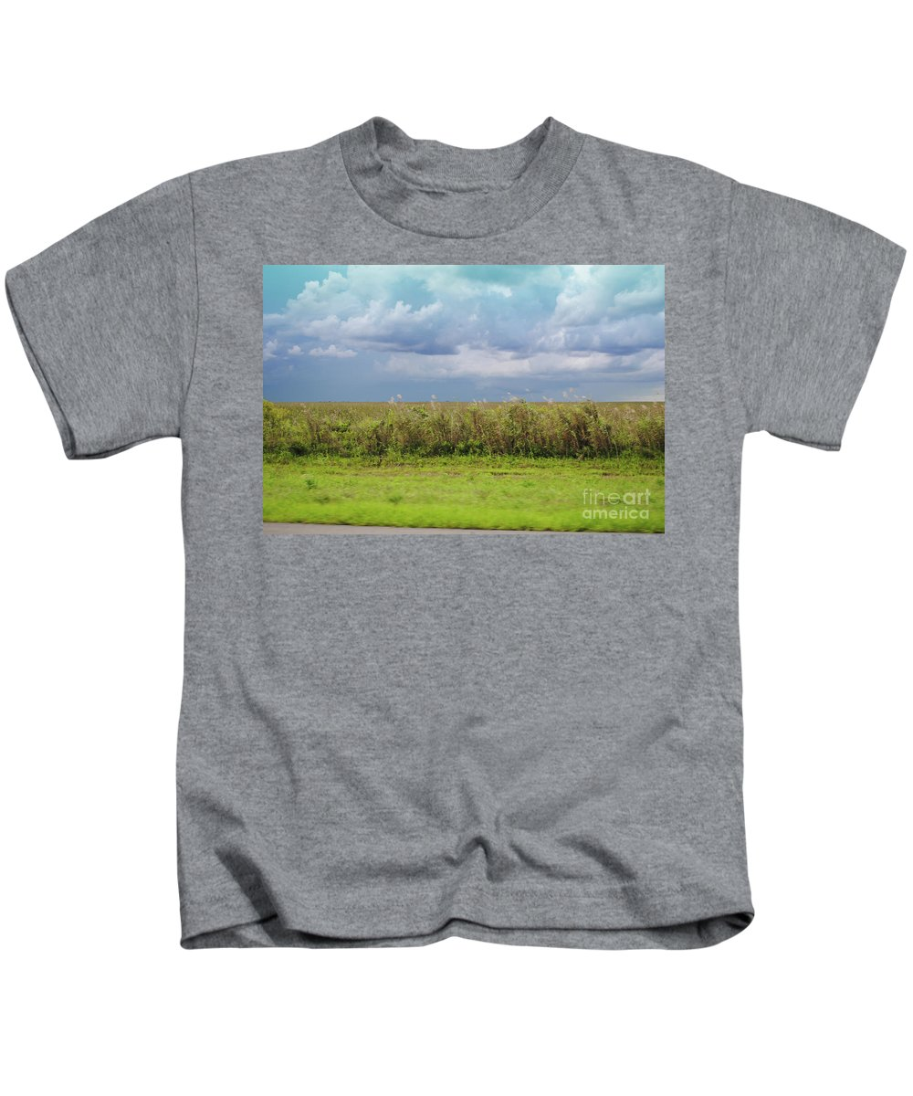Everglades Kids T-Shirt featuring the photograph Everglades by Jost Houk