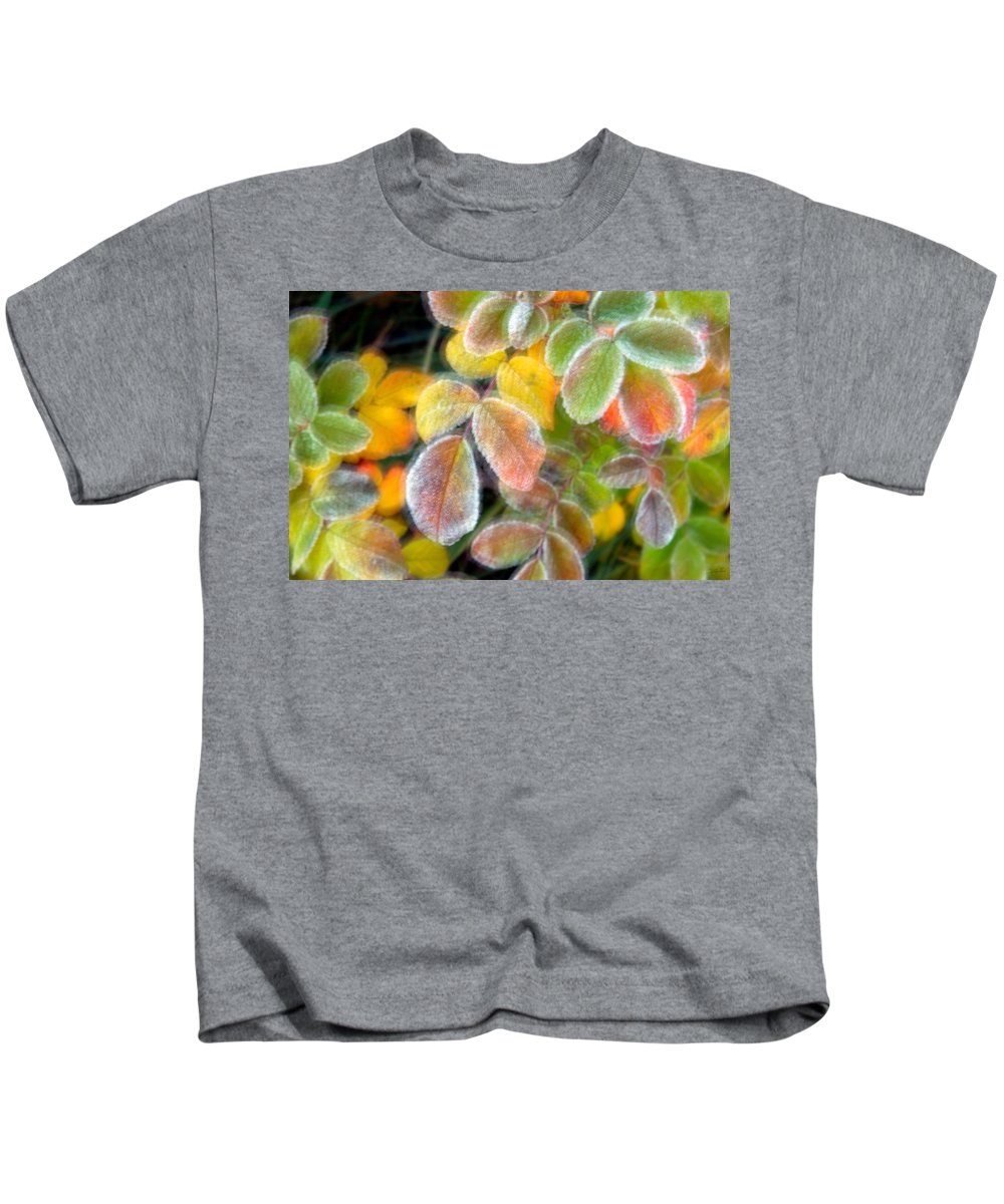 Canada Kids T-Shirt featuring the photograph Eye Candy by Doug Gibbons