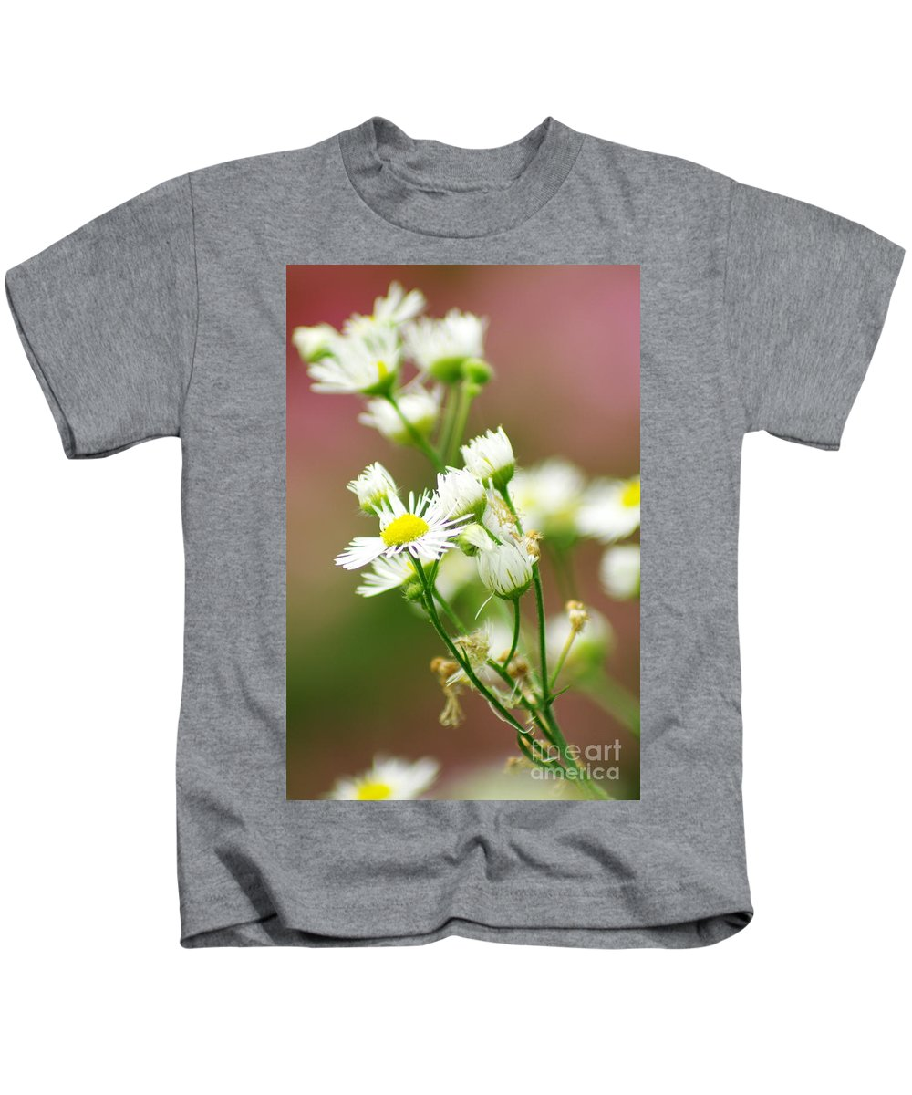 Kids T-Shirt featuring the photograph Fall Flowers by Kitrina Arbuckle