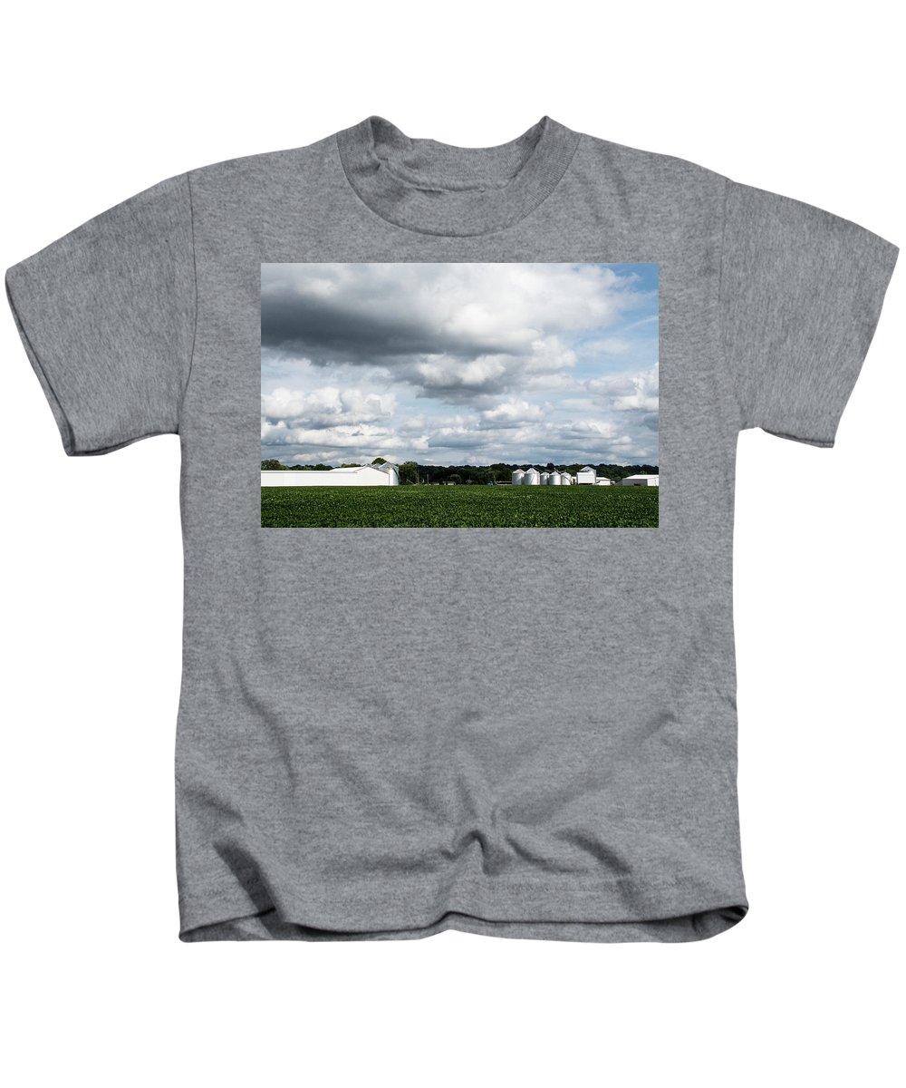 Farm Kids T-Shirt featuring the photograph Farmland by Aedon Colino