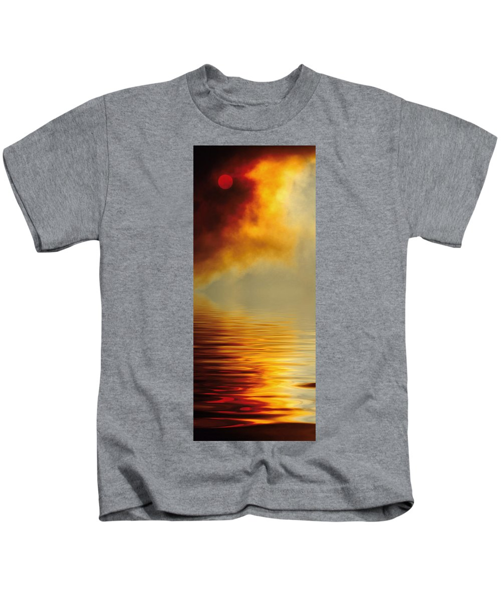 Sun Kids T-Shirt featuring the photograph Filtered Sun by Jerry McElroy