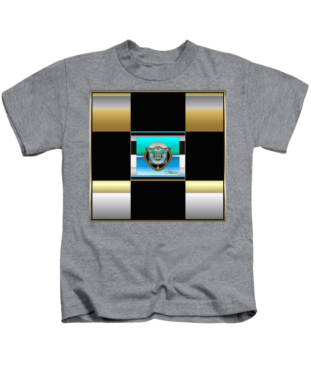 Kids T-Shirt featuring the digital art Firefly by Larry Talley