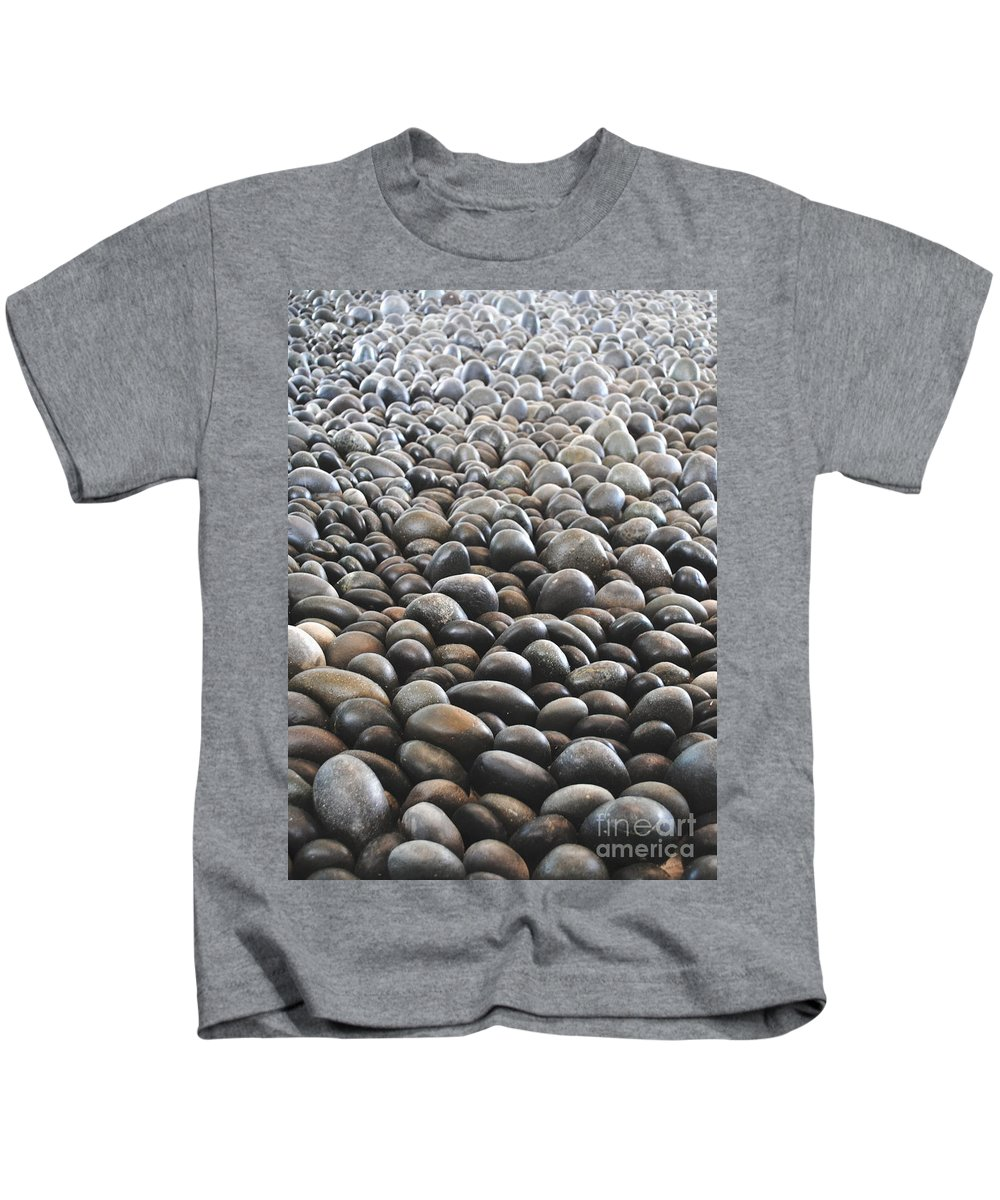 Rocks Kids T-Shirt featuring the photograph Floor Of Rocks by Jost Houk