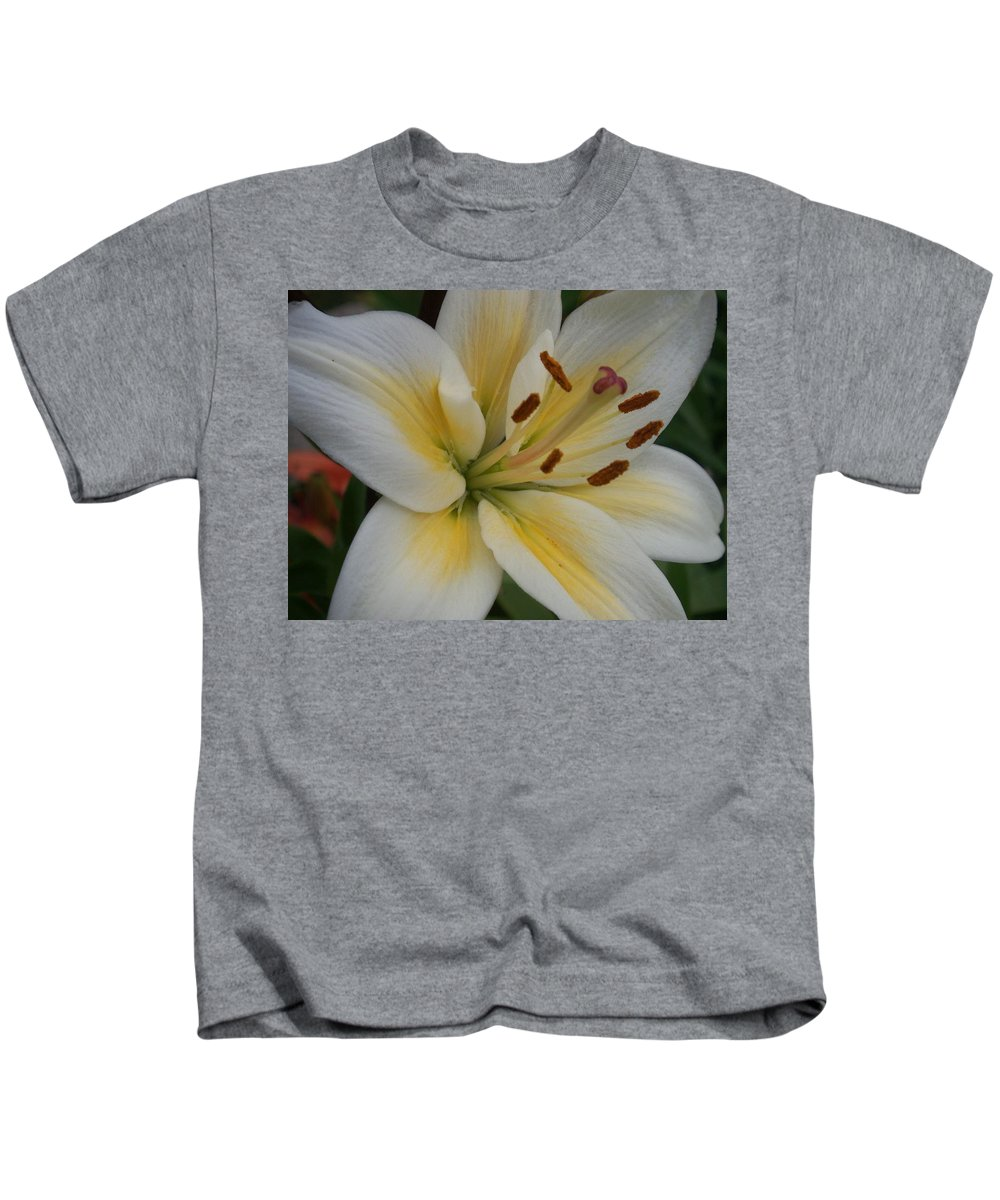 Flower Kids T-Shirt featuring the photograph Flower Close Up 1 by Anita Burgermeister