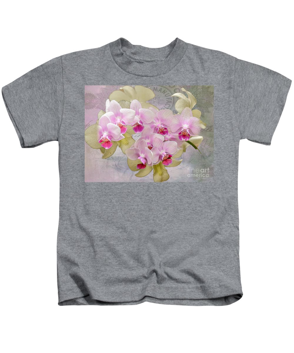 Flower Kids T-Shirt featuring the photograph Flower-d by Larry White