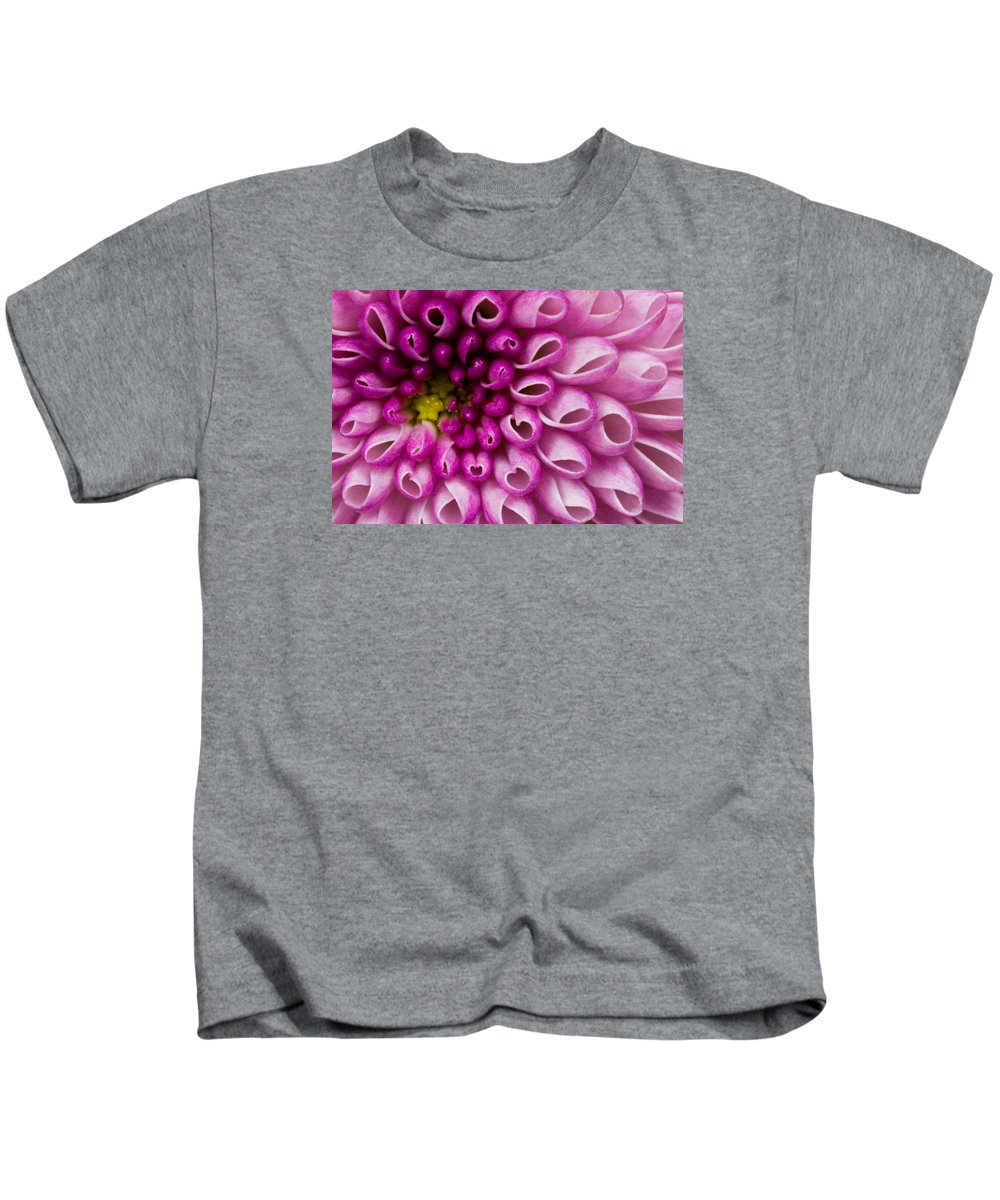 Flower Purple Kids T-Shirt featuring the photograph Flower No. 4 by Andrew Giovinazzo