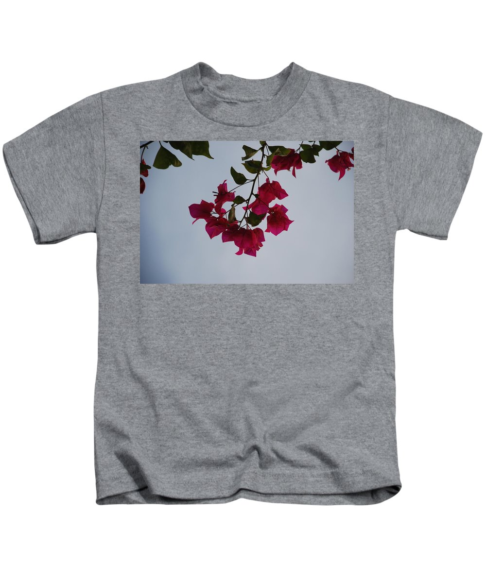 Flowers Kids T-Shirt featuring the photograph Flowers In The Sky by Rob Hans