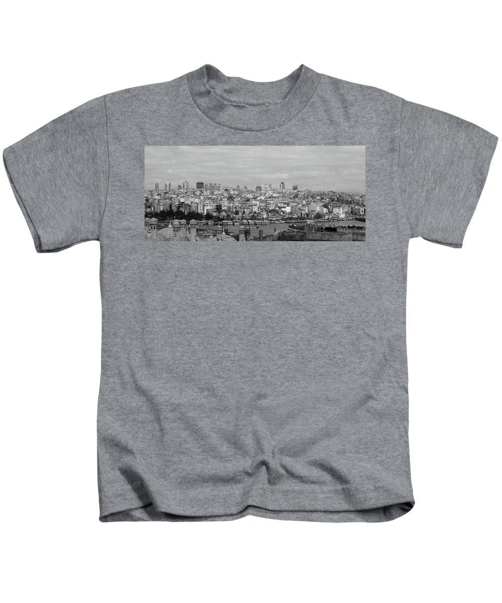 Suburb Kids T-Shirt featuring the photograph Galata by Malik Avunduk