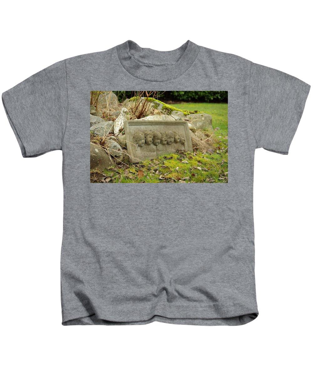 Garden Kids T-Shirt featuring the photograph Garden Babies II by Cindy Johnston