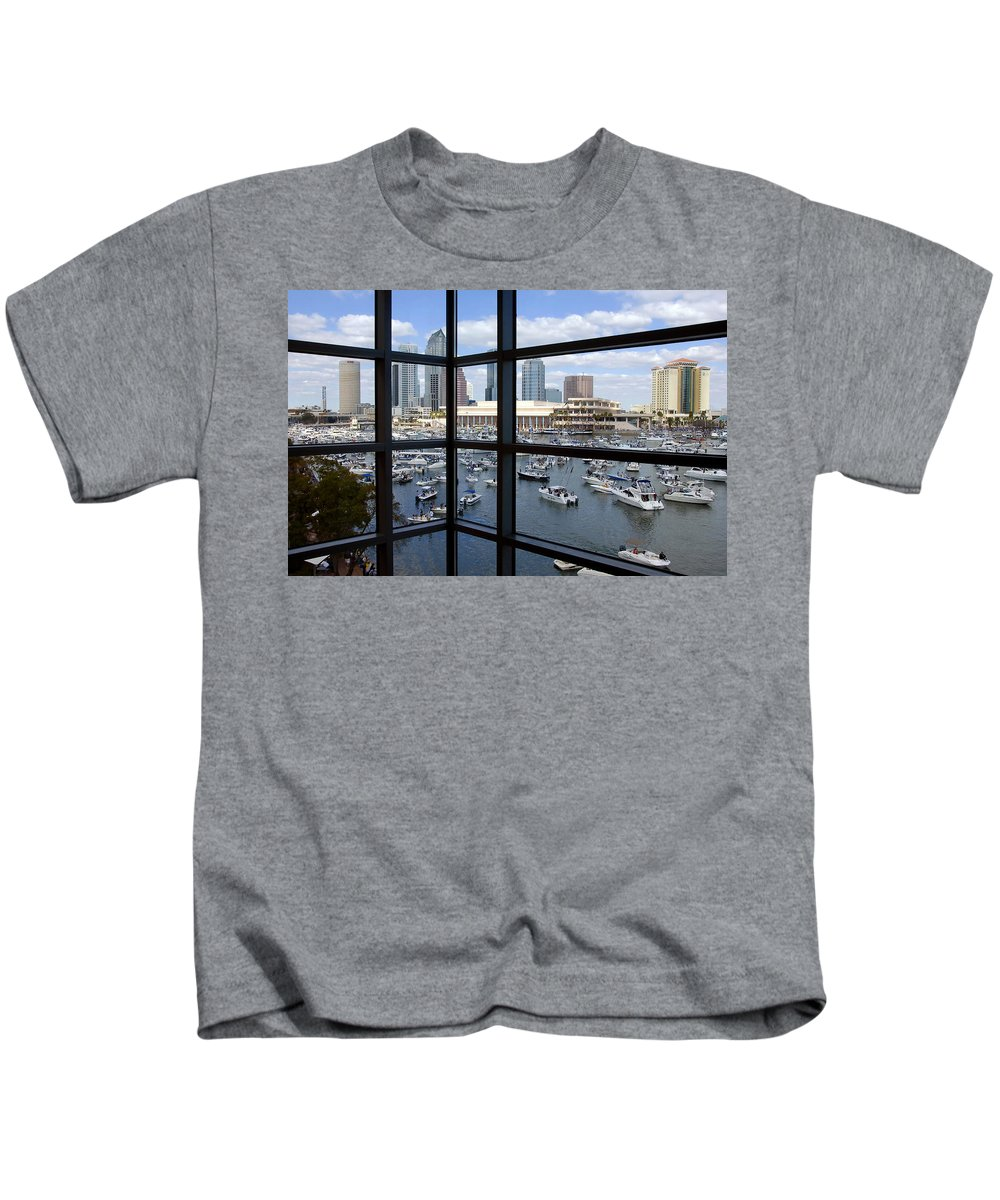 Gasparilla Kids T-Shirt featuring the photograph Gasparilla Invasion by David Lee Thompson