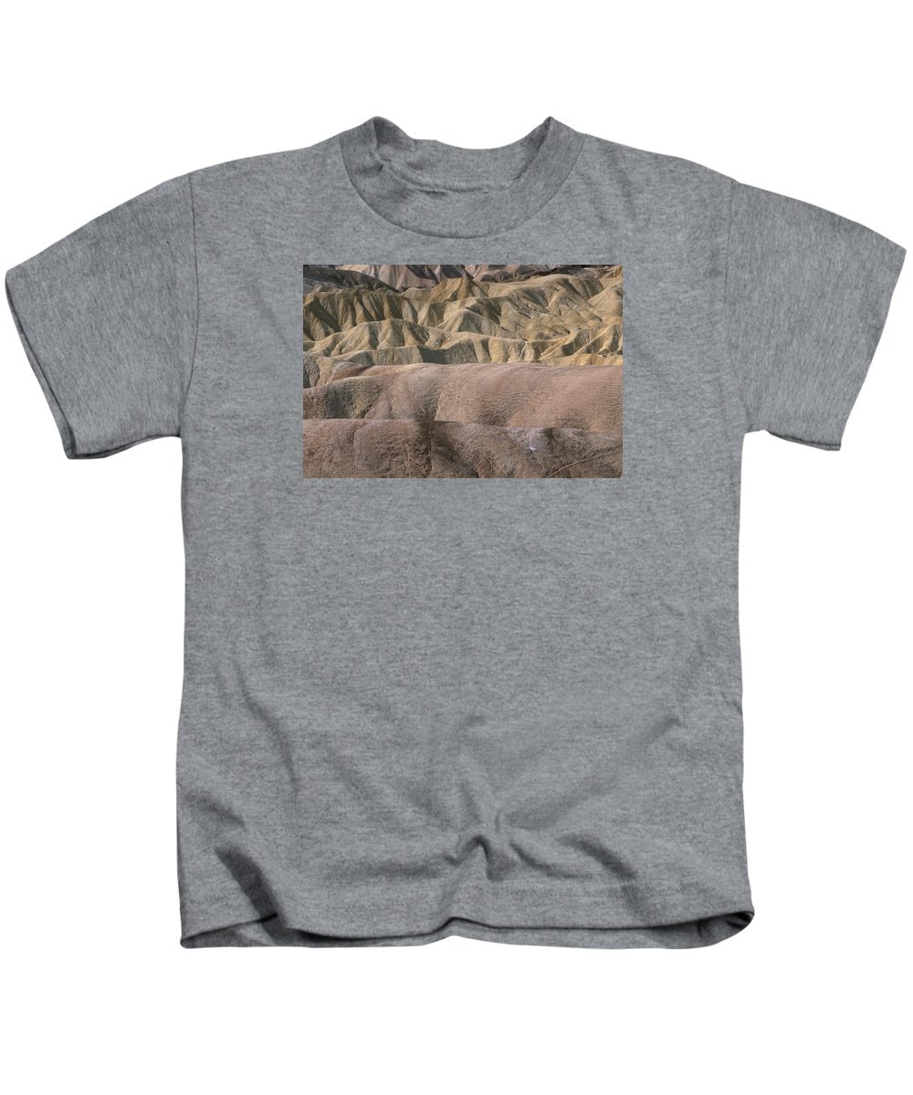 Death Valley National Park Ca. Kids T-Shirt featuring the photograph Golden Canyon - Death Valley National Park by Soli Deo Gloria Wilderness And Wildlife Photography