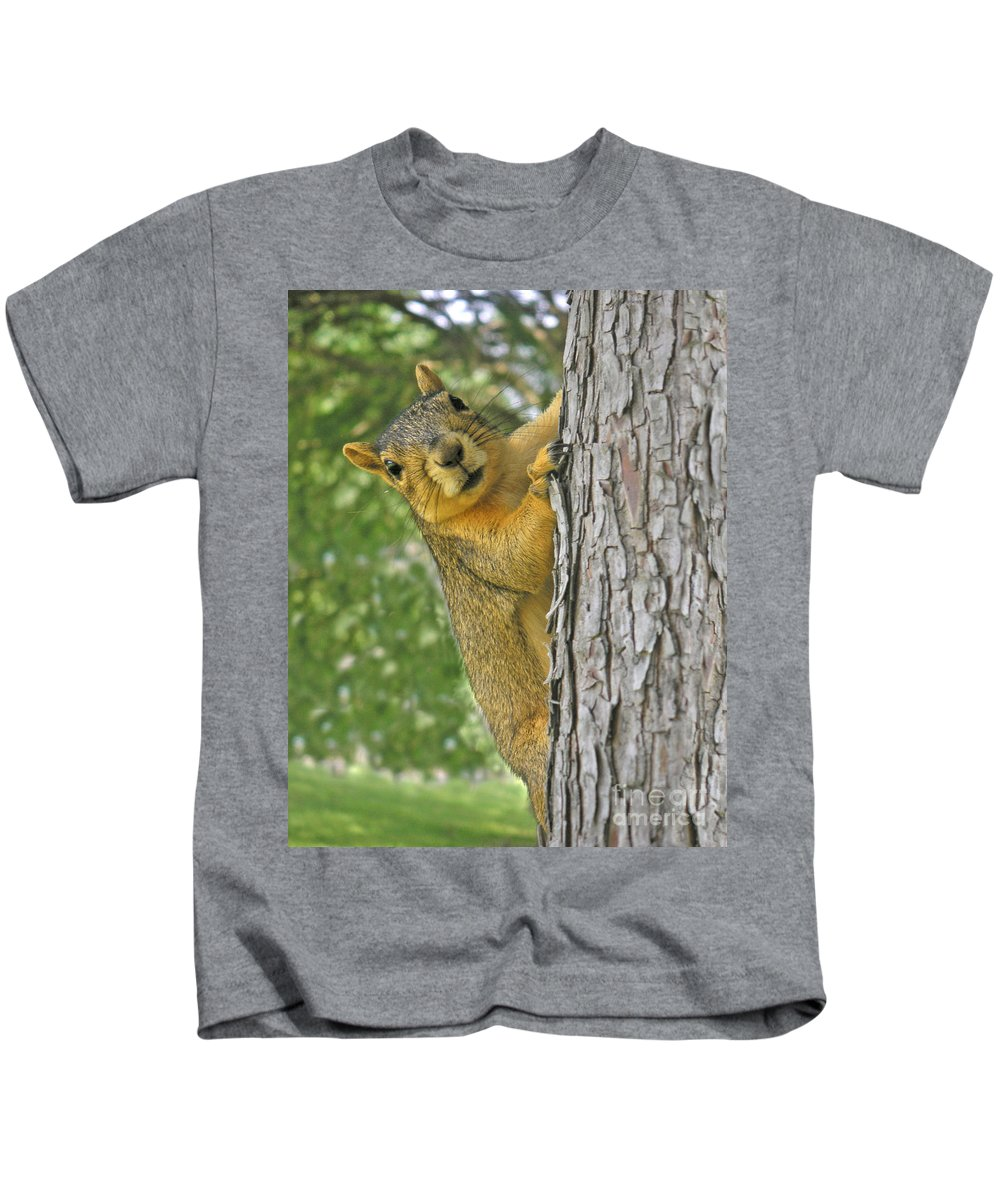 Nature Kids T-Shirt featuring the photograph Good Morning by Lucyna A M Green