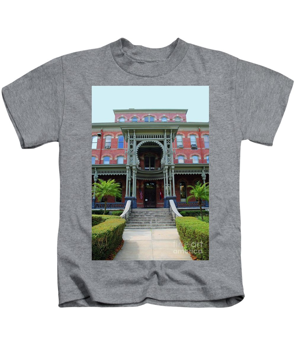 Unviersity Of Tampa Kids T-Shirt featuring the photograph Grand Entrance by Jost Houk