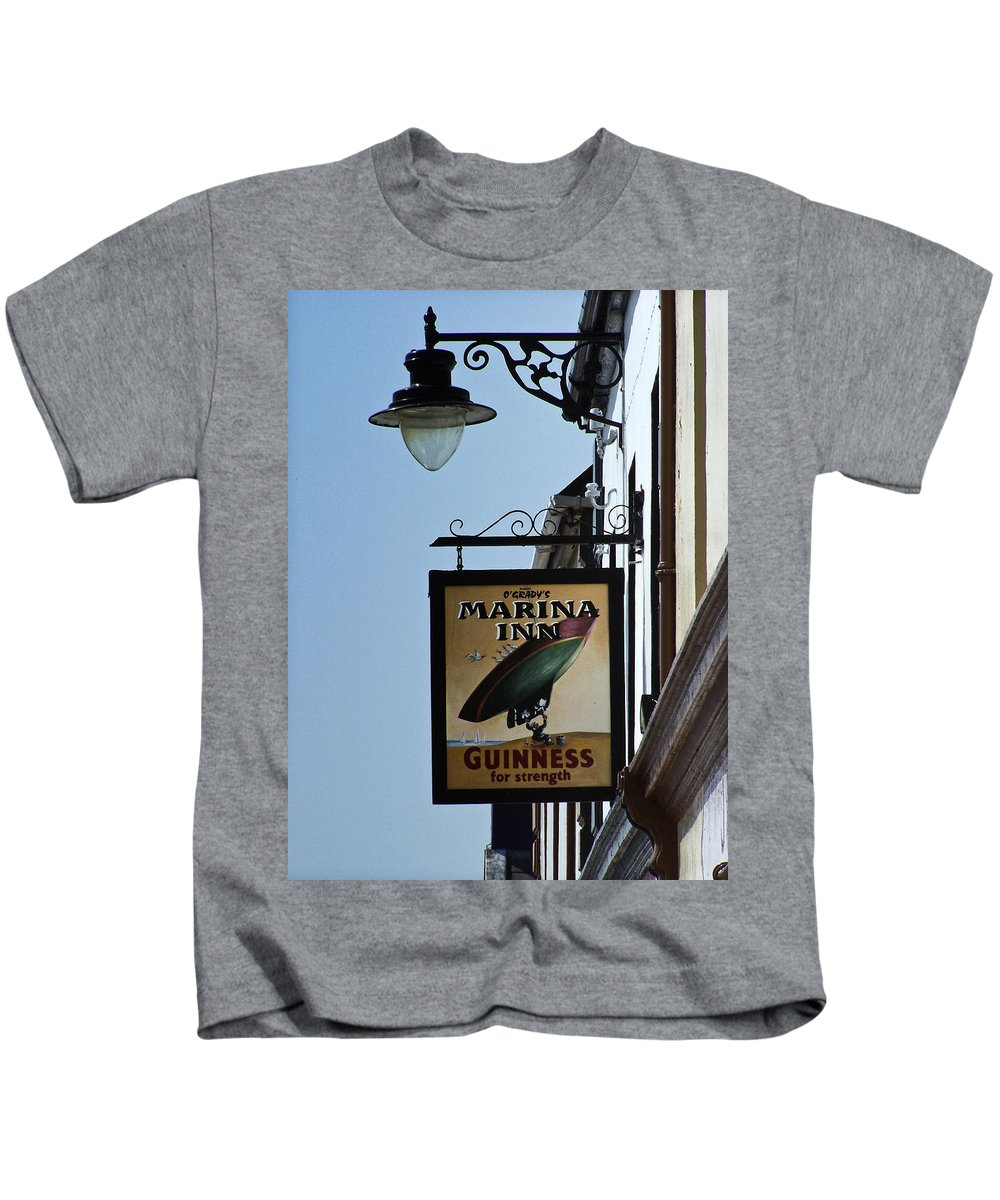 Irish Kids T-Shirt featuring the photograph Guinness For Strength Dingle Ireland by Teresa Mucha