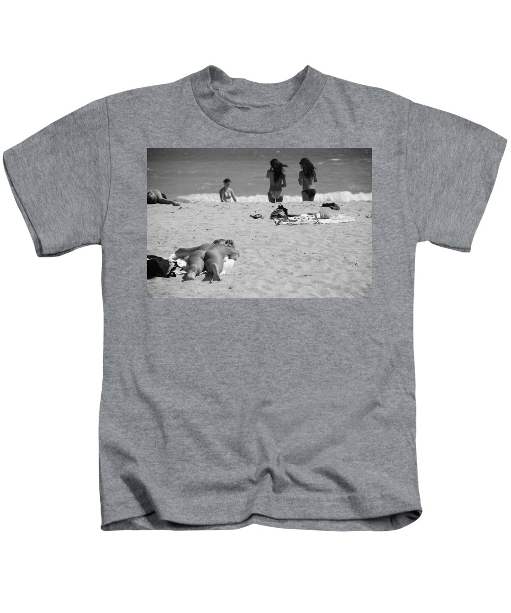Miami Kids T-Shirt featuring the photograph Half Dead Half Alive by Rob Hans