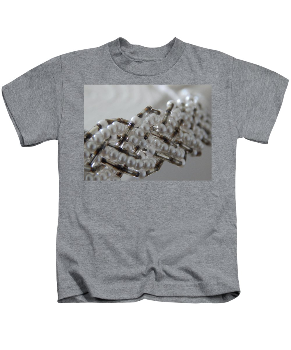 Beads Kids T-Shirt featuring the photograph Halo by Kristie Ferrick