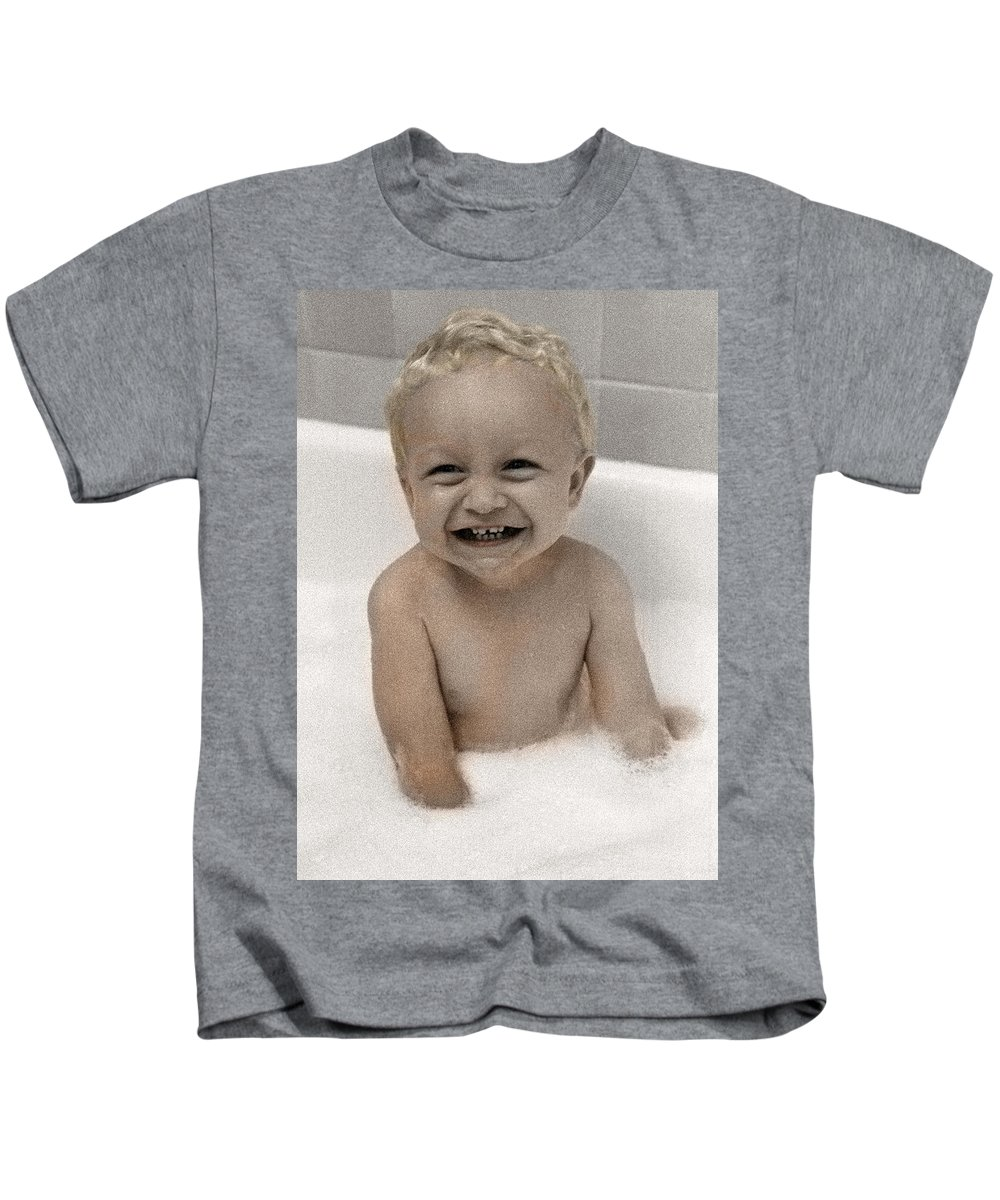 Happy Contest Kids T-Shirt featuring the photograph Happy Contest 14 by Jill Reger