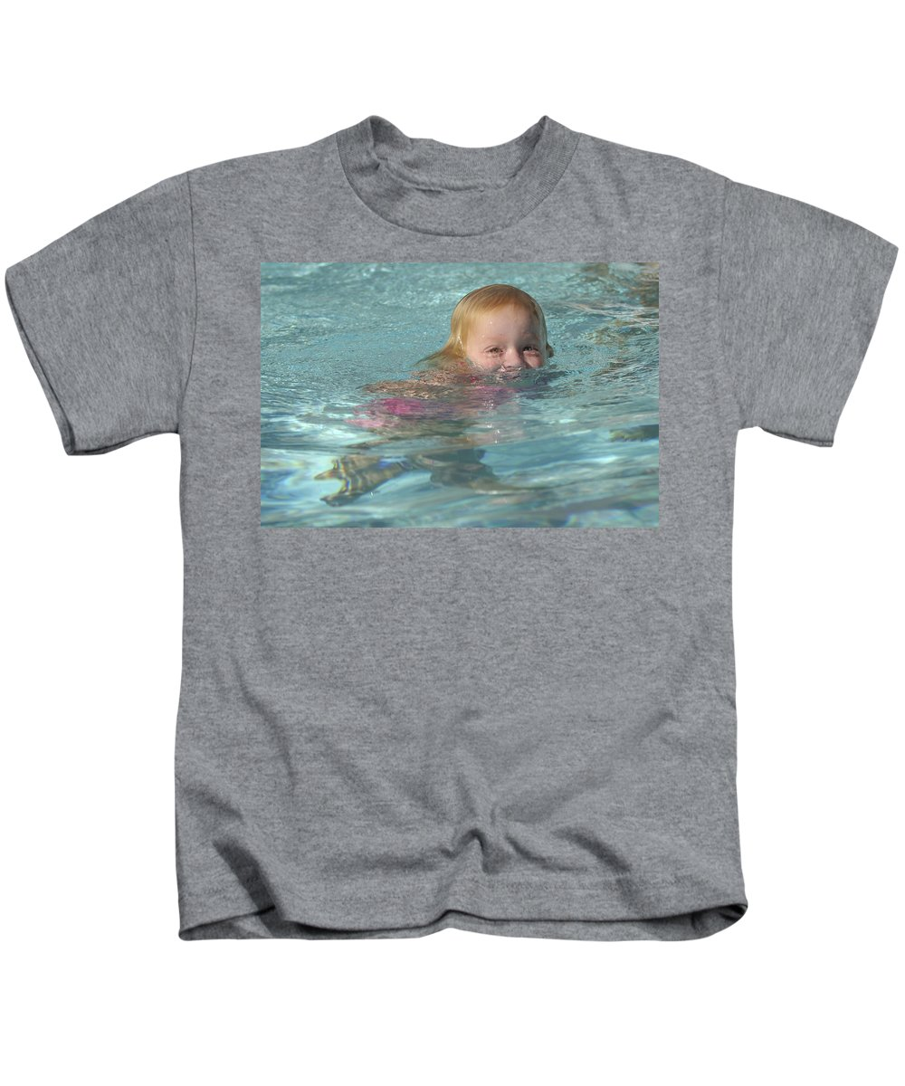 Happy Contest Kids T-Shirt featuring the photograph Happy Contest 4 by Jill Reger