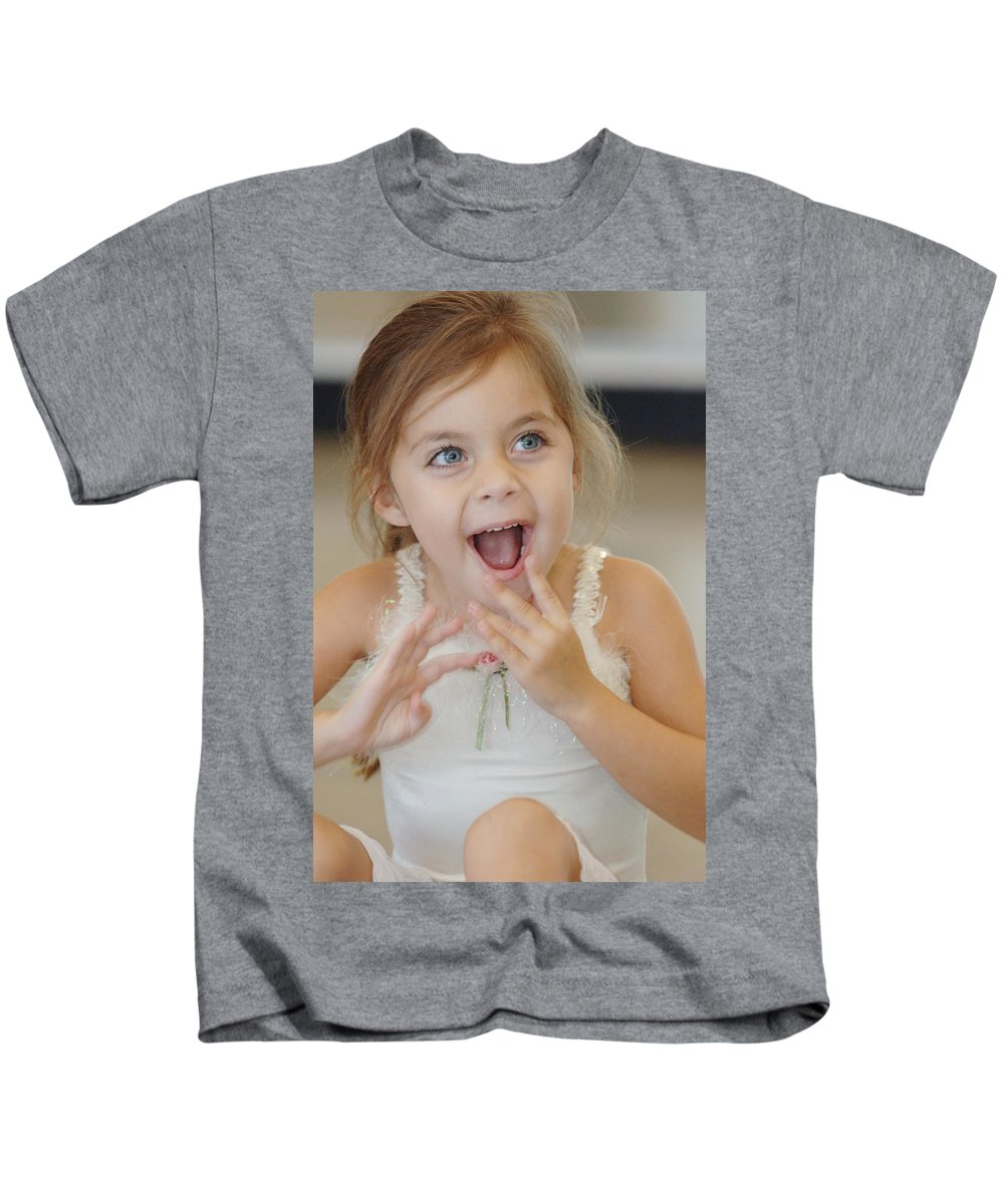 Happy Contest Kids T-Shirt featuring the photograph Happy Contest 8 by Jill Reger