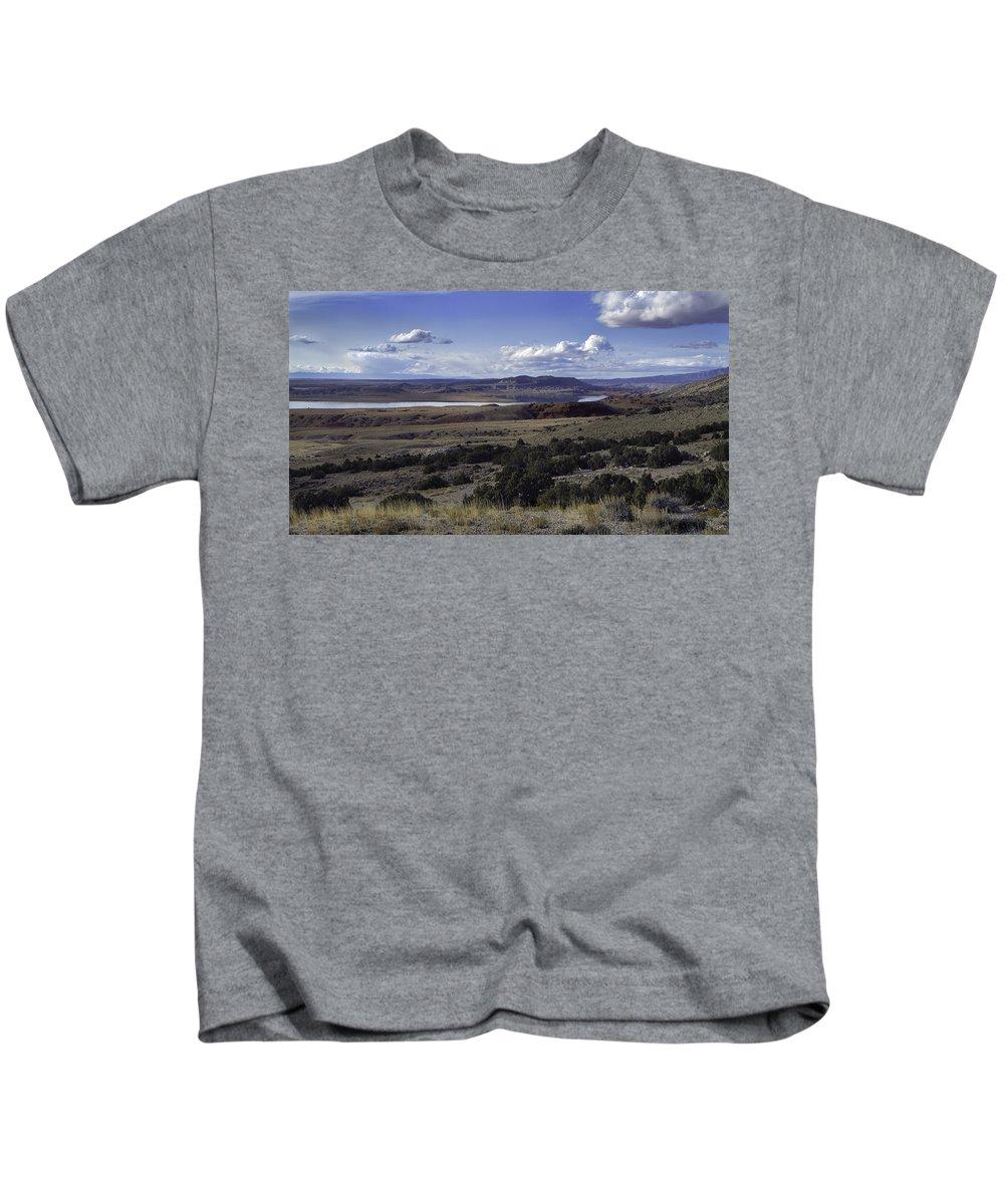 Desert Kids T-Shirt featuring the photograph Heaven And Earth by Richard Rivard