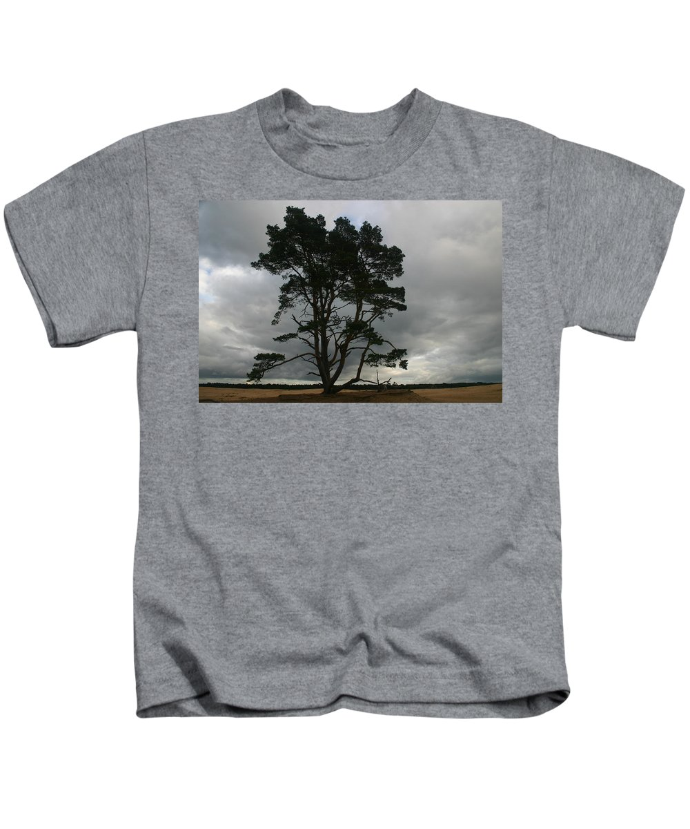 Storm Kids T-Shirt featuring the photograph Holland Desert by Minaz Jantz
