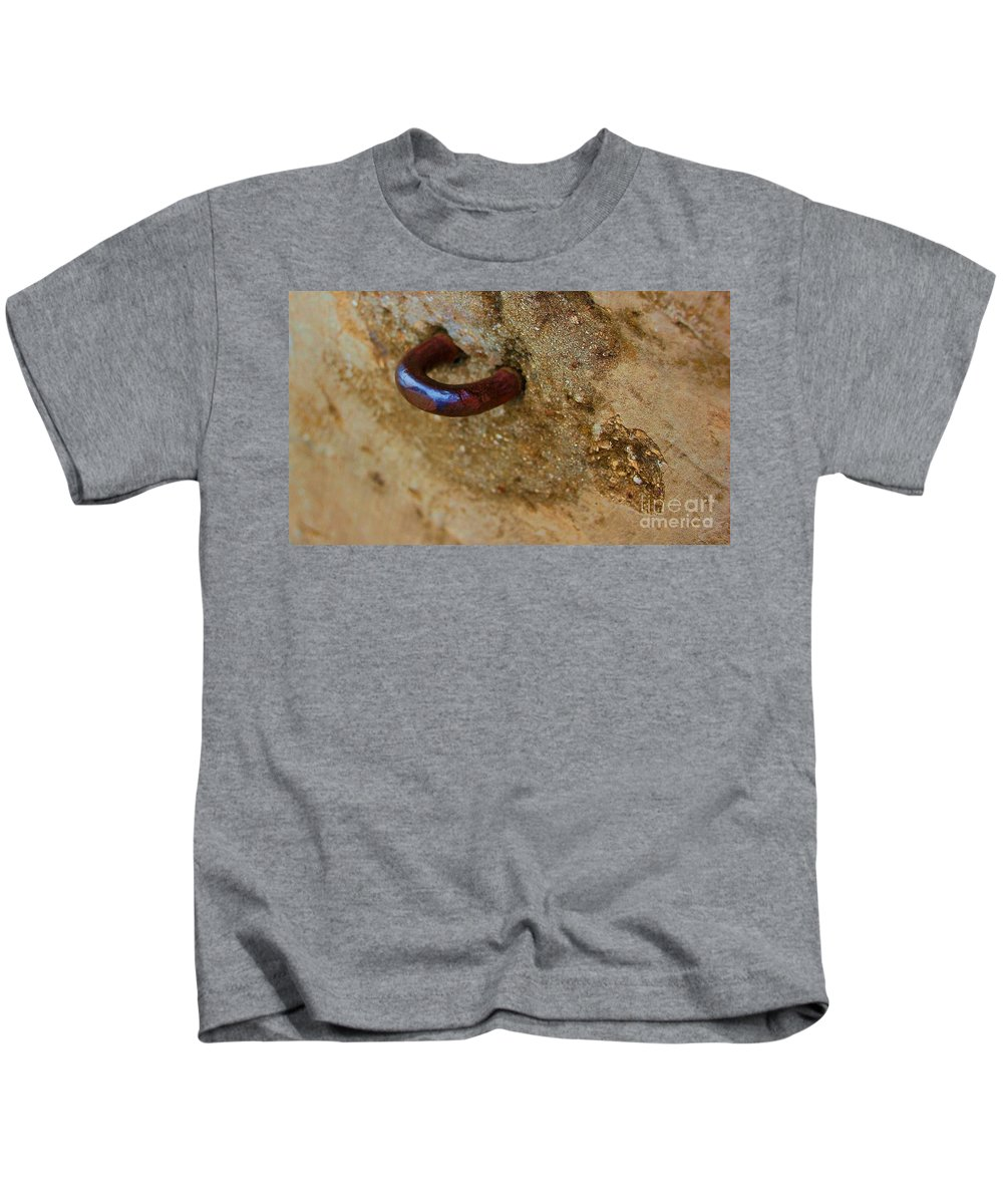 Concrete Kids T-Shirt featuring the photograph Hooked by Debbi Granruth