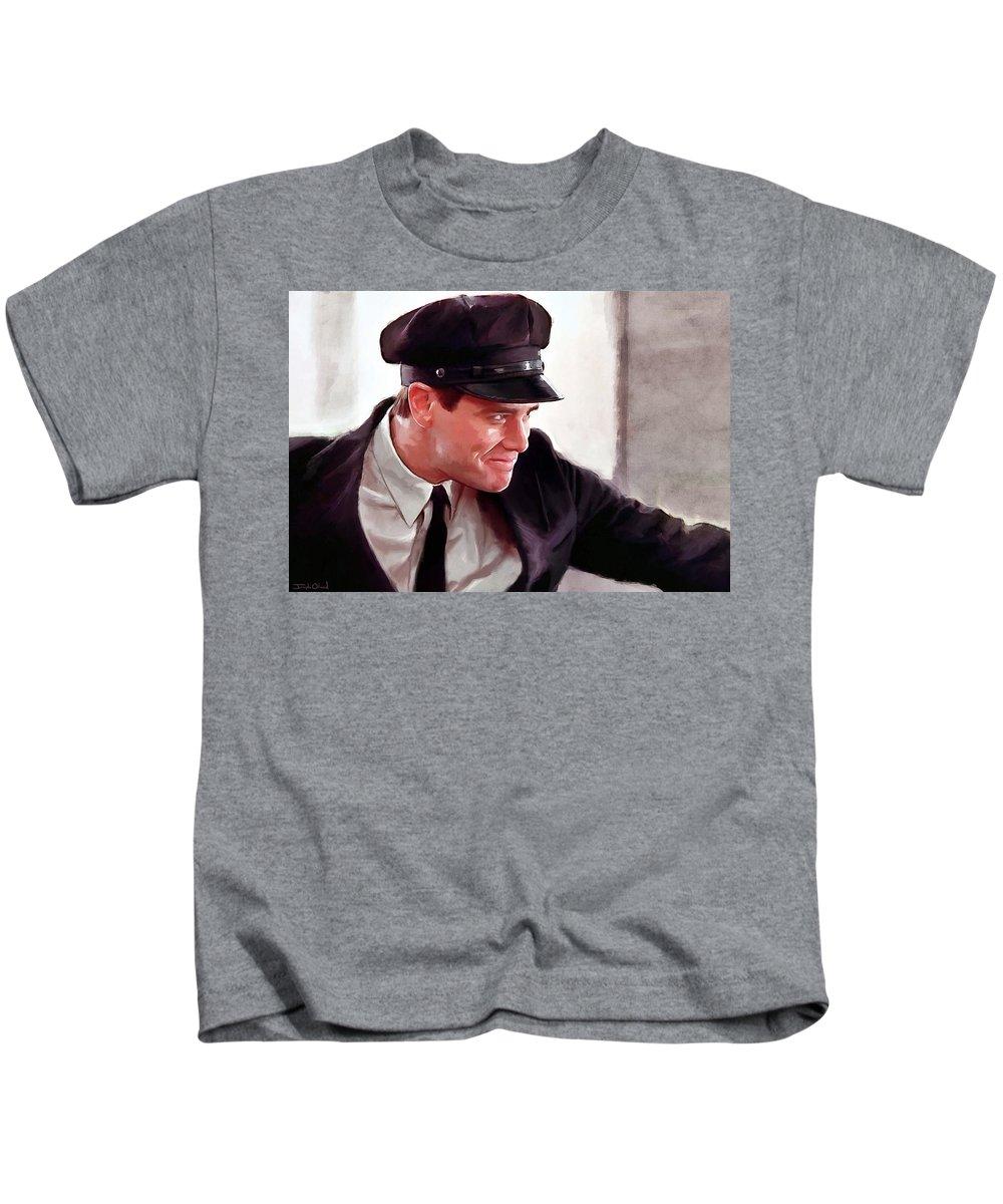 T-Shirt Child Boy Jim Carrey Dumb Plus dumb Gift Idea