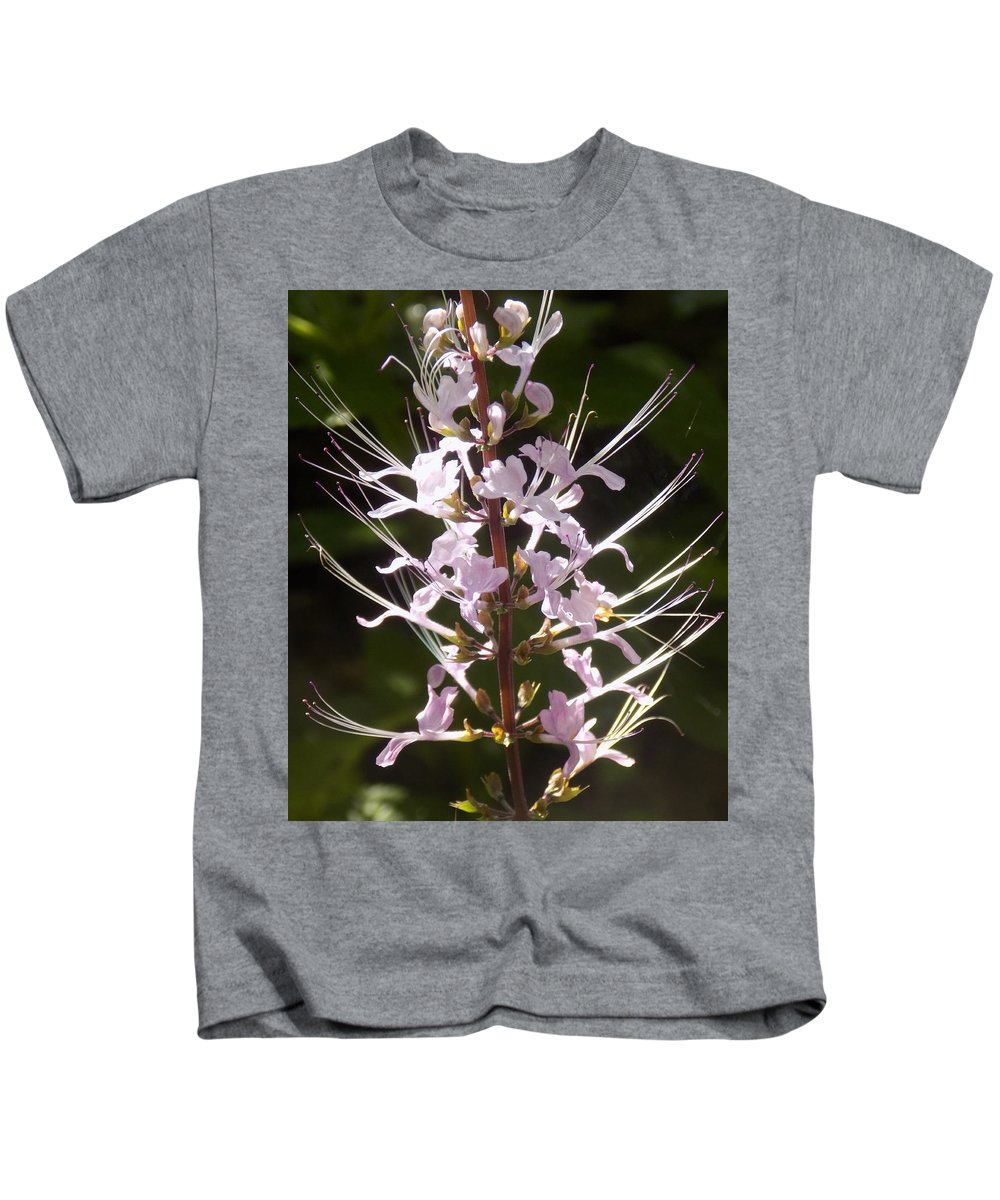 Purple Kids T-Shirt featuring the photograph Hurricane Lilies by Sarah Barba