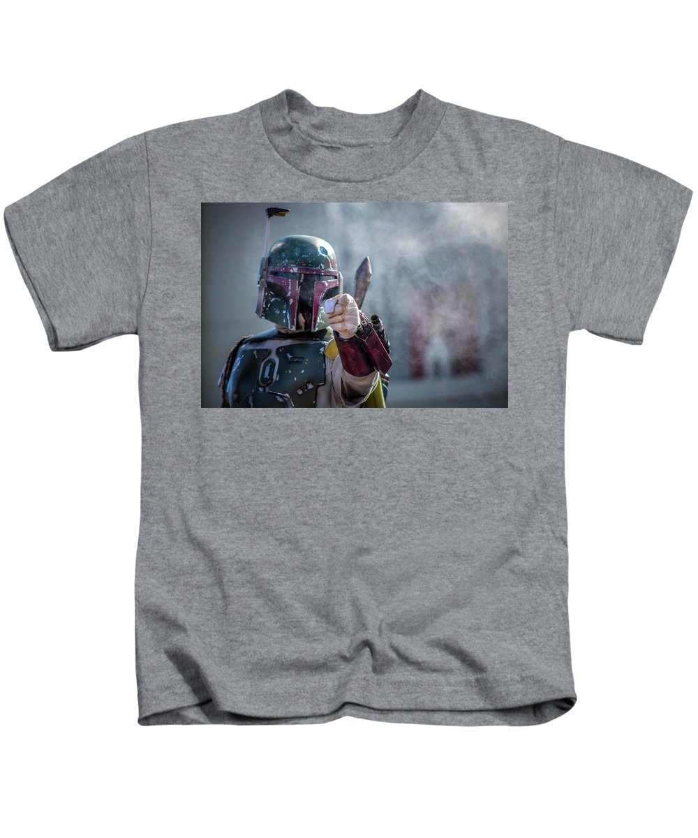 Disney Kids T-Shirt featuring the photograph I Choose You by Luis Rosario