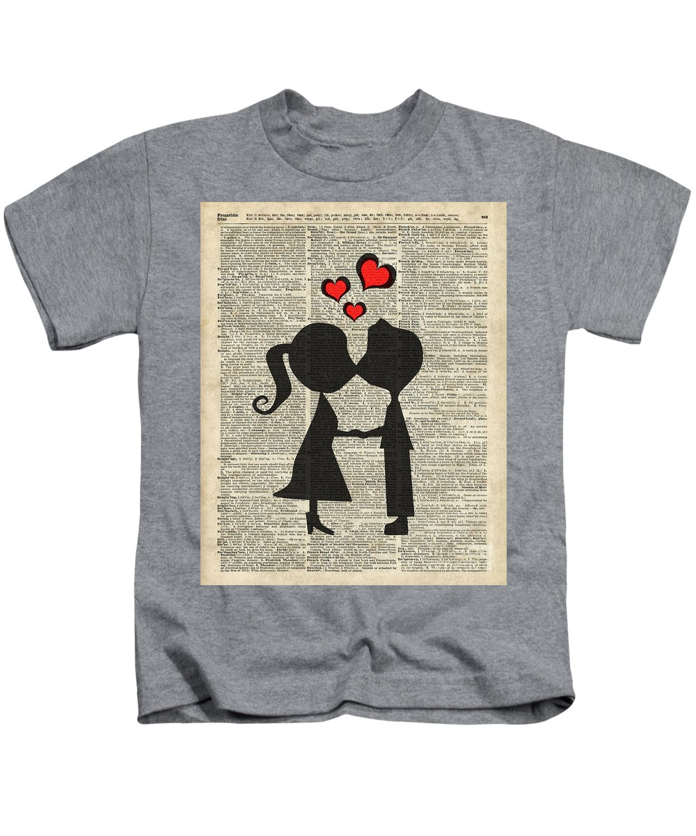 I Love You Kids T-Shirt featuring the digital art I Love You by Anna W