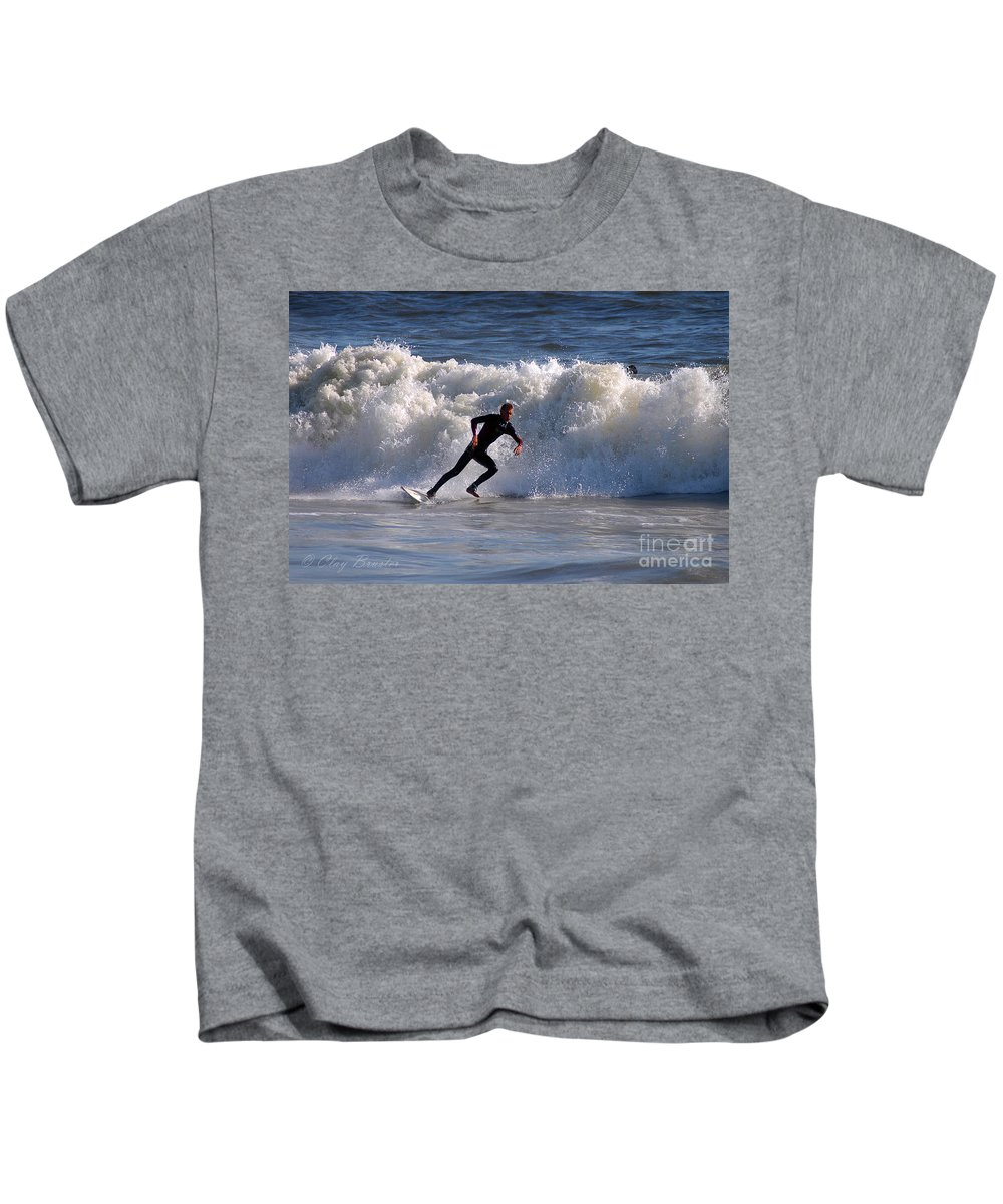 Clay Kids T-Shirt featuring the photograph I Quit by Clayton Bruster